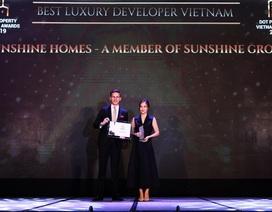 Sunshine Group chiến thắng vang dội với 5 giải thưởng danh giá tại Dot Property Awards 2019
