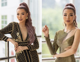 Quán quân 'Siêu mẫu quốc tế 2018' Khả Trang sexy khi ngồi ghế giám khảo