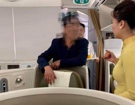 Vị khách hạng thương gia say xỉn, nghi quấy rối cô gái trẻ trên máy bay