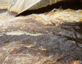 Ô nhiễm bất thường tại đập dâng ngàn tỷ: Do hàm lượng sắt cao?