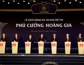 Thủ tướng Nguyễn Xuân Phúc bấm nút khởi công dự án lấn biển rộng hơn 68ha
