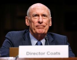Giám đốc tình báo Mỹ bất ngờ từ chức vì bất đồng quan điểm với ông Trump