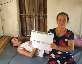 Bạn đọc Dân trí giúp đỡ người đàn bà nghèo đến bất lực gần 54 triệu đồng