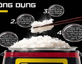 Nồi cơm nấu lên ăn không còn lo bị tiểu đường có thực sự hiệu quả?