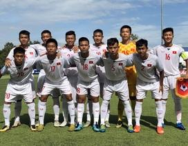 U15 Việt Nam thắng sát nút Singapore bằng bàn thắng từ chấm phạt đền