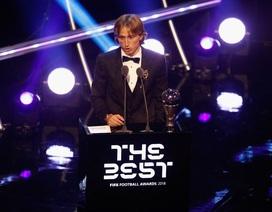Đề cử giải Cầu thủ xuất sắc nhất thế giới: Thiếu vắng Luka Modric