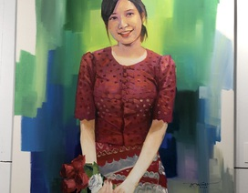 Ấn tượng tác phẩm mỹ thuật của hoạ sĩ quốc tế ở Đà Nẵng