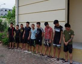 11 đối tượng hành hung nhóm thanh niên nghi trêu ghẹo bạn gái