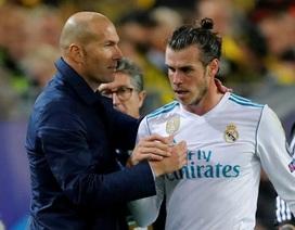 HLV Zidane ra đòn trừng phạt nặng nề với Gareth Bale