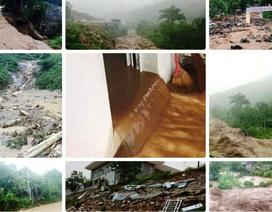 Mưa lớn liên tục gây sạt lở, chia cắt khu vực miền núi