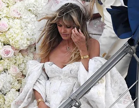 Heidi Klum đẹp tựa nữ thần trong lần hai cưới ông xã kém 17 tuổi