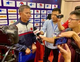 """HLV Hoàng Anh Tuấn: """"U18 Việt Nam cố gắng giành kết quả tốt nhất"""""""