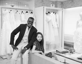 Ngắm váy cưới của nhà thiết kế Việt tại tiệm đồ cưới nổi tiếng tại New York