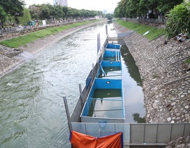 Chuyên gia Nhật Bản sẽ tắm trong khu thí điểm làm sạch sông Tô Lịch
