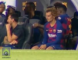 Messi từ chối bắt tay, khó chịu ra mặt với Griezmann