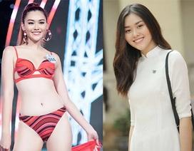 Á hậu Miss World Việt Nam từng là hot girl trường Phan Đình Phùng