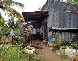 Một hộ dân dùng xăng, dao chống trả lực lượng cưỡng chế đất, 7 người bị thương