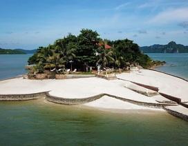 """Hàng loạt công trình  xây dựng trên vịnh Bái Tử Long bị """"sờ gáy"""""""