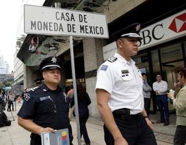 Hơn 2,5 triệu USD tiền vàng của chính phủ Mexico bị cướp
