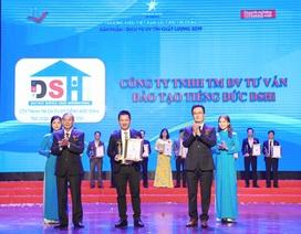 """DSHi vinh dự nhận danh hiệu """"Thương hiệu Việt Nam ưu tiên tin dùng – sản phẩm, dịch vụ uy tín chất lượng 2019"""""""