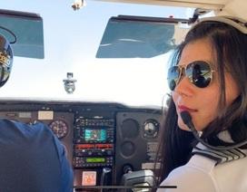 Nữ phi công gốc Việt đặt mục tiêu một mình bay vòng quanh thế giới