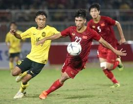 Bàn thắng may mắn giúp U18 Việt Nam đánh bại Malaysia tại giải Đông Nam Á