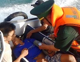 Ứng cứu kịp thời ngư dân bị đột quỵ khi đang đánh bắt trên biển