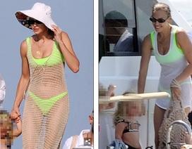 Irina Shayk cùng mẹ và con gái đi nghỉ mát ở Ibiza