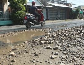 Quốc lộ 80 đoạn qua Cần Thơ xuống cấp nghiêm trọng, tai nạn liên tiếp