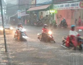 Tây Nguyên và Nam Bộ tiếp tục mưa to