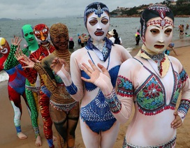 Thời trang tắm biển ở Trung Quốc khiến nhiều người … sốc nặng