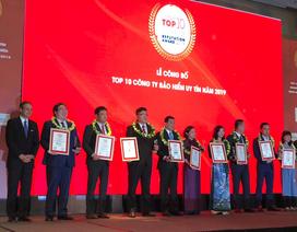 Cathay Life Việt Nam vinh dự nhận giải thưởng Top 10 công ty Bảo Hiểm Nhân Thọ Uy Tín 2019