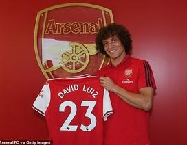 Arsenal chính thức chiêu mộ thành công David Luiz