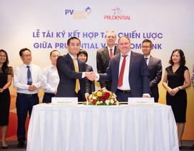 Prudential và Pvcombank ký kết hợp tác độc quyền dài hạn
