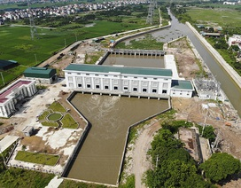 Toàn cảnh trạm bơm 7.464 tỷ đồng thoát nước cho phía Tây Hà Nội