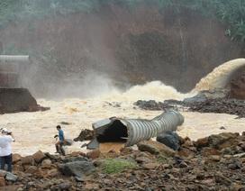 Vụ thủy điện suýt bị vỡ: Tự ý tích nước, chưa được phép vận hành