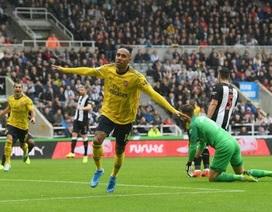 Newcastle 0-1 Arsenal: Pha lập công duy nhất của Aubameyang