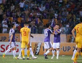 Thắng đậm Thanh Hoá, CLB Hà Nội giữ vững ngôi đầu V-League