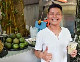 """""""Độc chiêu"""" pha nước mía với sầu riêng giúp chủ quán 8x ở Hà Nội thu lãi trăm triệu đồng/tháng"""
