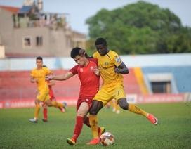 Bỏ lỡ nhiều cơ hội, SL Nghệ An và Hải Phòng chấp nhận cưa điểm