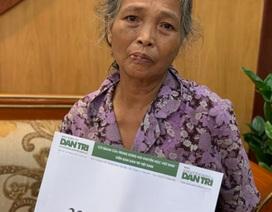 Người đàn bà khốn khổ được bạn đọc Dân trí giúp đỡ gần 34 triệu đồng