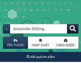 Việt Nam lần đầu ra mắt ngân hàng dữ liệu tra cứu thuốc