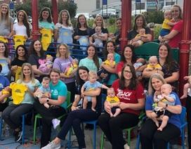 Ghé thăm bệnh viện có 36 y tá cùng mang thai và sinh con trong 1 năm