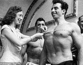 """""""Điệp viên 007"""" Sean Connery từng đi thi Mr Universe khoe cơ bắp lực lưỡng"""