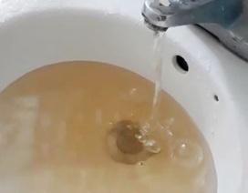 Nước máy bỗng chuyển màu vàng đục và hôi bất thường tại TP Huế!