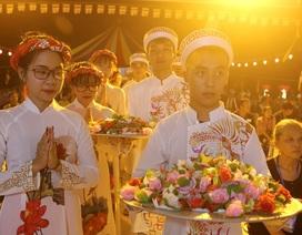Hình ảnh xúc động trong lễ Vu Lan báo hiếu ở chùa Kim Sơn Lạc Hồng