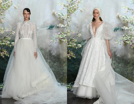 Ngay sau New York, váy cưới của PHUONG MY xuất hiện tại London