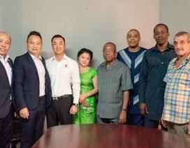 Trường Tiền Holding: Tiên phong đặt viên gạch hợp tác đầu tiên trên đất Tây Phi