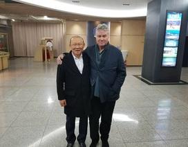 HLV Park Hang Seo dẫn dắt U22 Việt Nam đấu U22 Trung Quốc của Guus Hiddink