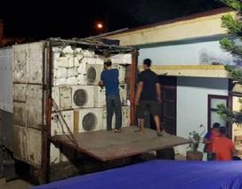 Quảng Bình: Tạm giữ lô hàng điện lạnh nhập lậu trị giá hơn nửa tỷ đồng
